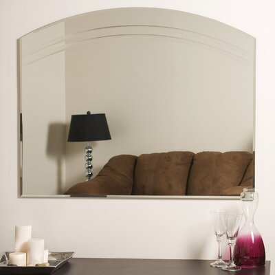 "Decor Wonderland 31.5"" H x 39.5"" W Angel Wall Mirror"
