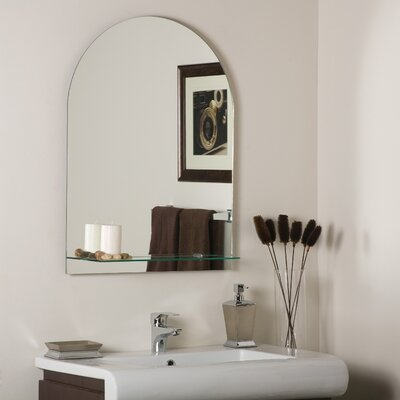 Decor Wonderland Roland Frameless Wall Mirror