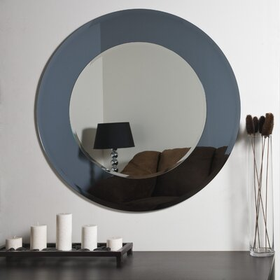 Decor Wonderland Camilla Modern Round Wall Mirror