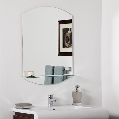 Decor Wonderland Vanessa Modern Bathroom Mirror