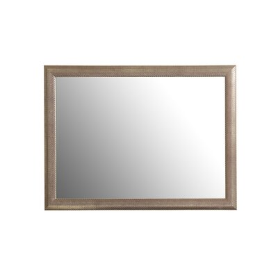 Decor Wonderland Modern Silverstone Distressed Mirror