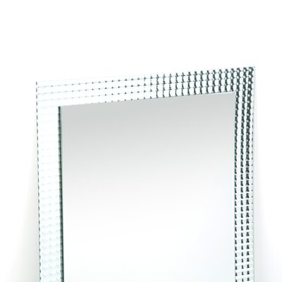 "Decor Wonderland 31.5"" H x 23.6"" Frameless Disco Wall Mirror"