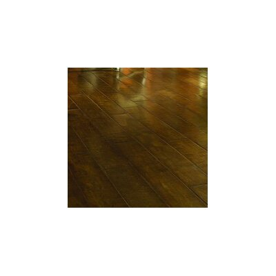 "Virginia Vintage Crossfire 5"" Handscraped Engineered Maple Flooring in Afterglow"