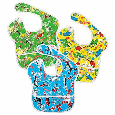 Bumkins Dr. Seuss SuperBib 3pack