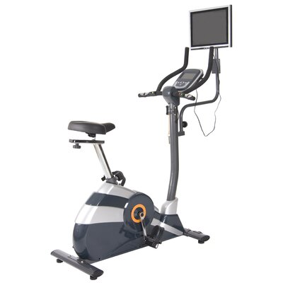 Body Flex Game Rider Deluxe Upright Bike with LCD-TV