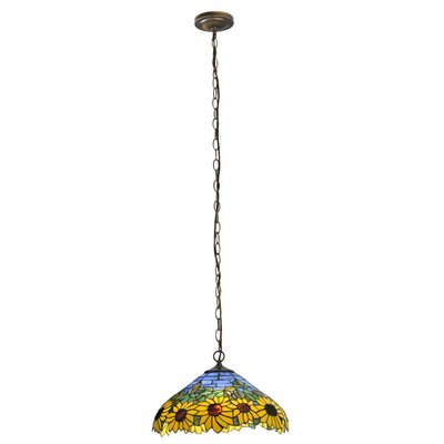 Wild Sunflower 2 Light Pendant