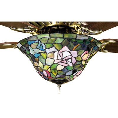 Meyda Tiffany Tiffany Rosebush Fan Light Fixture