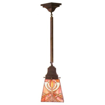 Mission Glasgow Bungalow 1 Light Mini Pendant