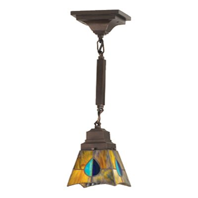 Mission Mackintosh 1 Light Mini Pendant