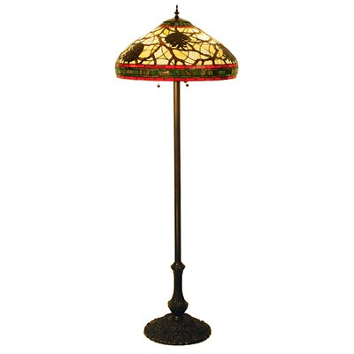 Meyda Tiffany Pinecone Floor Lamp