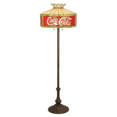Meyda Tiffany Tiffany Coca-Cola Floor Lamp