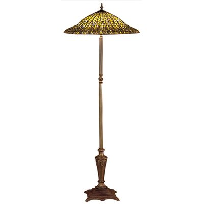 Meyda Tiffany Tiffany Lotus Leaf Floor Lamp