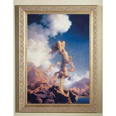 Meyda Tiffany Maxfield Parrish Ecstacy Framed Art