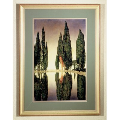 Meyda Tiffany Maxfield Parrish Reservoir Framed Graphic Art