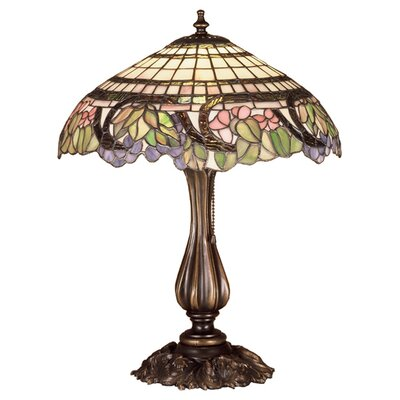Meyda Tiffany Tiffany Floral Handel Grapevine Table Table Lamp