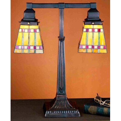 Meyda Tiffany Prairie Corn Table Lamp