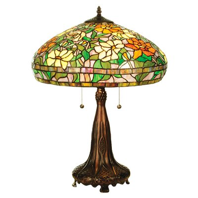 Meyda Tiffany Tiffany Nouveau Peony Table Lamp