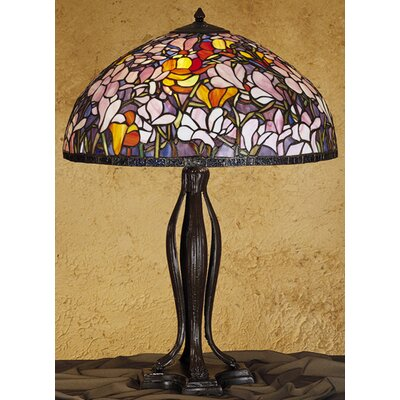 Meyda Tiffany Tiffany Magnolia Table Lamp