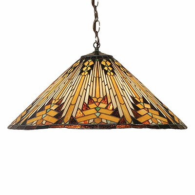 Mission Southwest Nuevo 3 Light Pendant