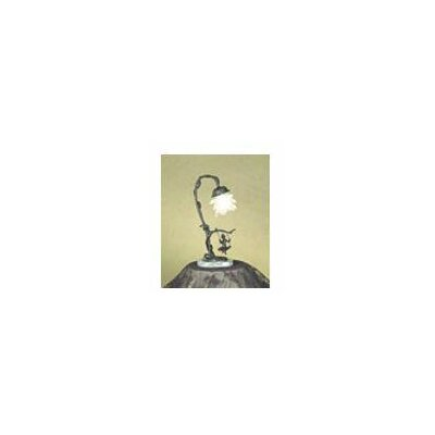 Meyda Tiffany Cherub On Swing Accent Lamp