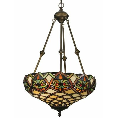 Tiffany Nouveau Franco 2 Light Inverted Pendant