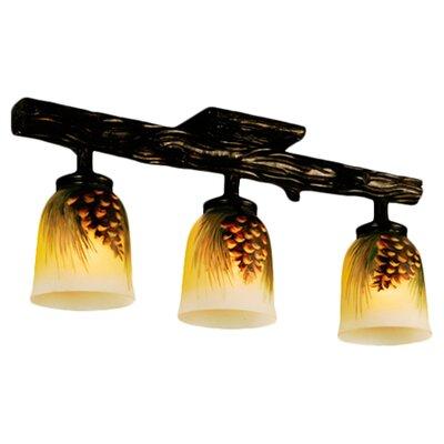 Rustic Northwoods 3 Light Pinecone Han Wayfair