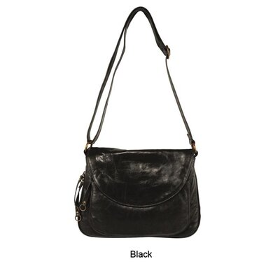 Latico Leathers Mimi in Memphis Mitzi Front Flap Expandable Shoulder Bag