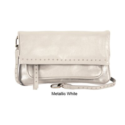 Latico Leathers Mimi in Memphis Jennie Medium Foldover Cross-Body Organizer