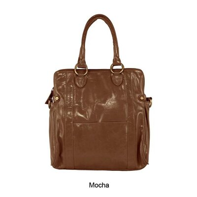 Latico Leathers Mimi in Memphis Sydney Rolled Handle Shoulder Bag