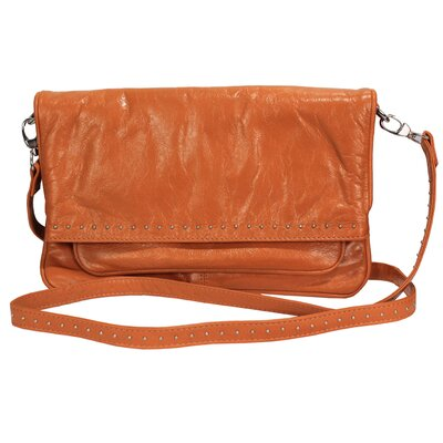 Latico Leathers Lafayette LargeMimi Foldover Crossbody/Shoulderbag