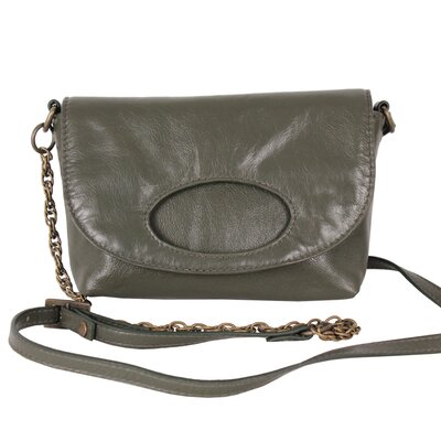 Camille Front Flap Cross Body Shoulder Bag