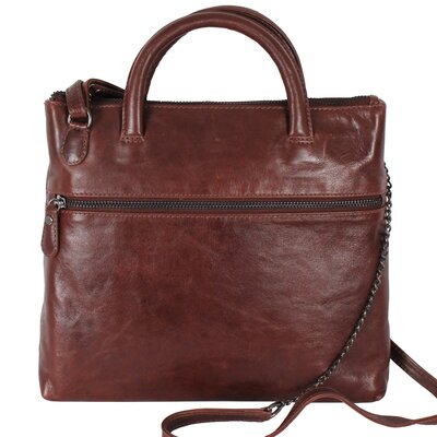 Latico Leathers Gia Cross-Body Tote Bag