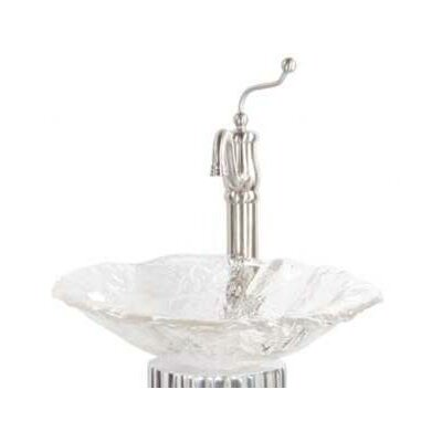 Brianna Art Glass Vessel Bathroom Sink - 005-013