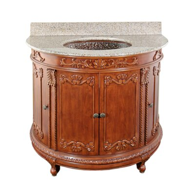 JSG Oceana Semi-Circle Bathroom Vanity Set