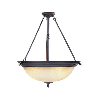 Designers Fountain Apollo 3 Light Inverted Pendant