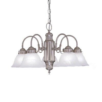 Designers Fountain Bistro 5 Light Chandelier
