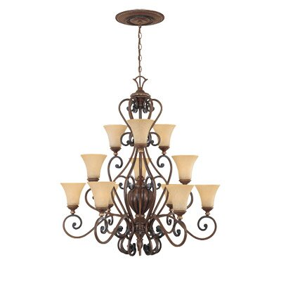 Designers Fountain Montreaux 12 Light Chandelier