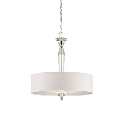 Designers Fountain Palatial 1 Light Drum Pendant