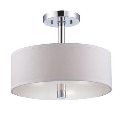 Designers Fountain Cordova 3 Light Semi-Flush Mount