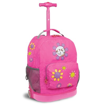Daisy Rolling Backpack