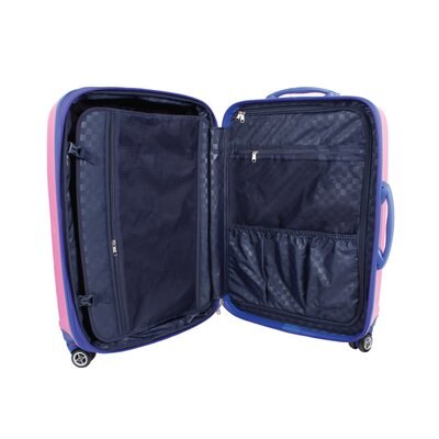 J World Vanesta 3 Piece Polycarbonate Expandable Spinner Luggage Set