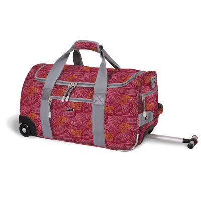 "J World 22"" Tamarak 2-Wheeled Carry-On Duffel"