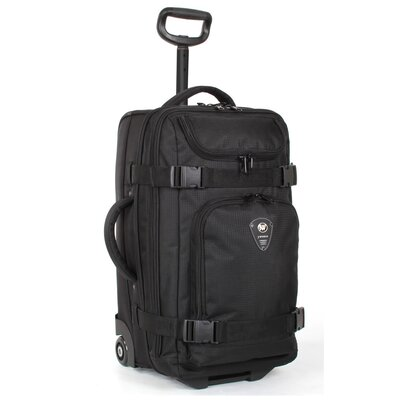 "J World 20"" Vine Multi-Compartment 2-Wheeled Carry-On Duffel"