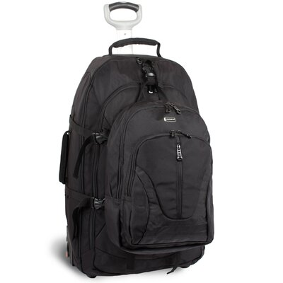 J World Hudson Rolling Backpack