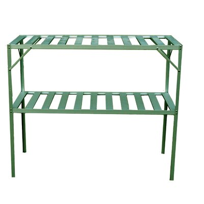 Exaco Free Standing Two Level Staging Shelving