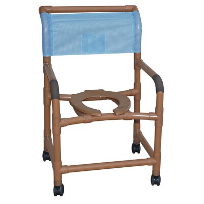 "MJM International Deluxe Wide 22"" Shower Chair"