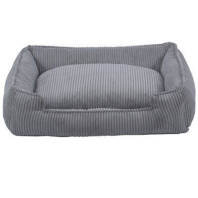 Corduroy Lounge Bolster Dog Bed