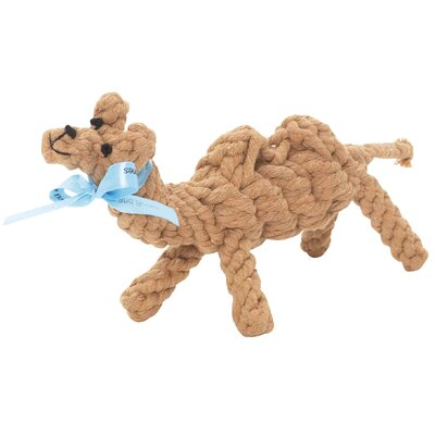 Carly the Camel Rope Dog Toy
