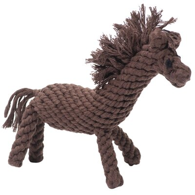 Jax & Bones Derby the Horse Rope Dog Toy