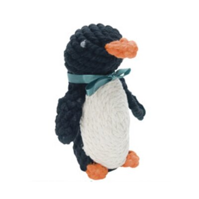Jax &amp; Bones Pepper the Penguin Rope Dog Toy